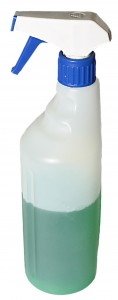 Detergente infissi in PVC