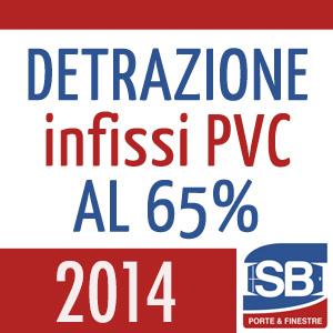 Detrazione infissi in PVC 2014