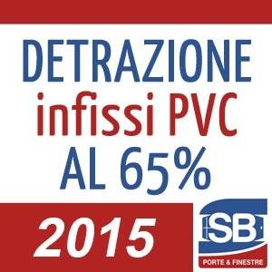 Detrazione infissi in PVC 2015