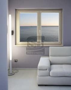Finestra in PVC Rovere Sbiancato in provincia di Palermo 1