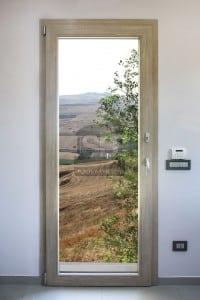 Portafinestra in PVC Rovere Sbiancato in provincia di Palermo