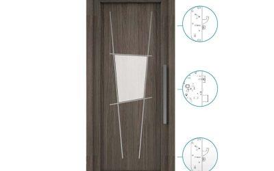 Portoncini ingresso in Pvc – Legno, alluminio o PVC