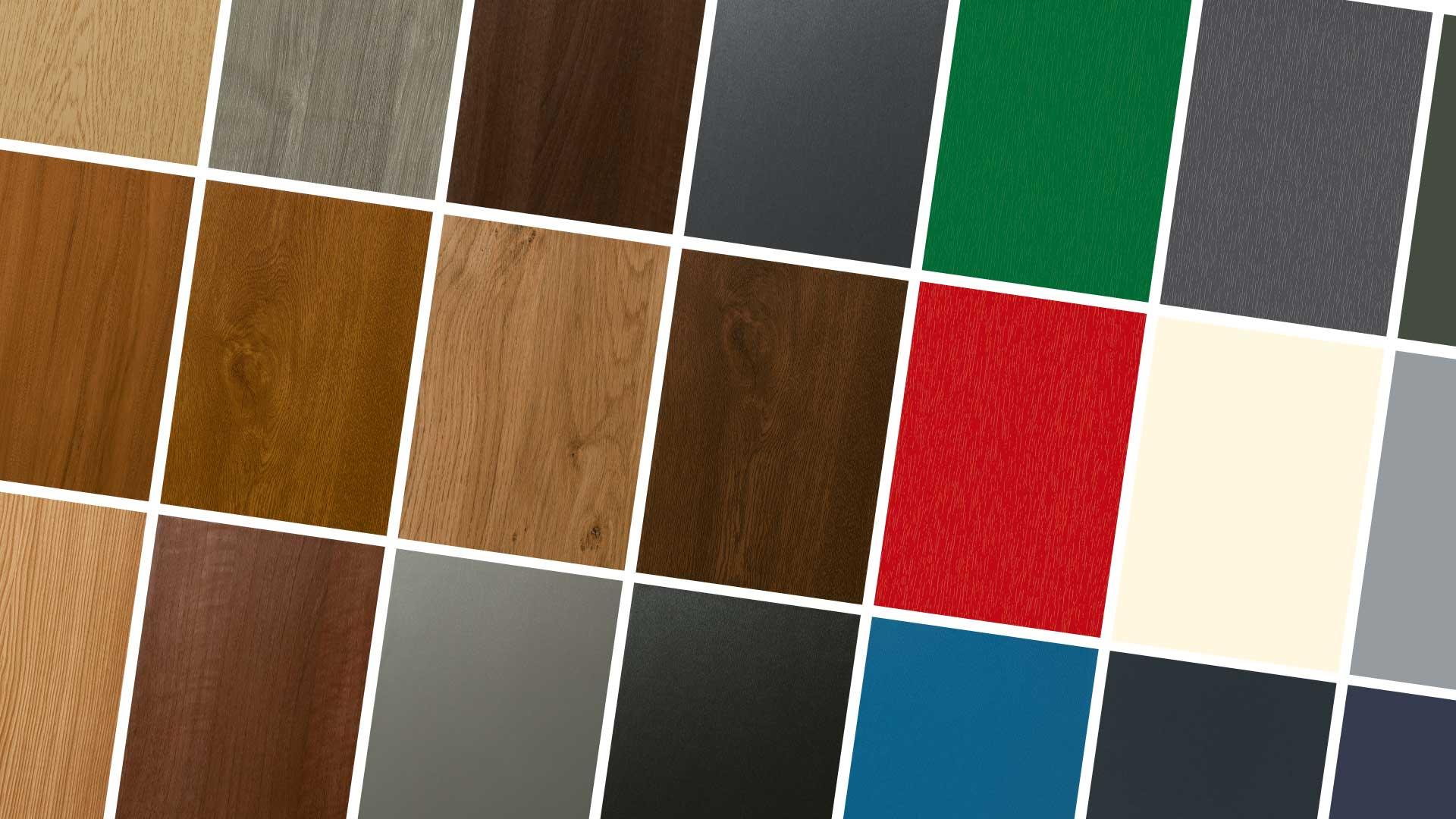 Cambiare Colore Infissi Alluminio infissi in pvc effetto legno: belli come gli infissi in legno
