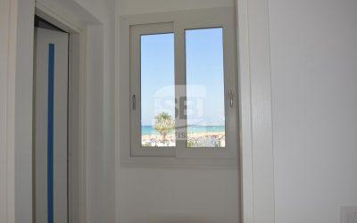 Controtelaio in ferro di finestre e porte