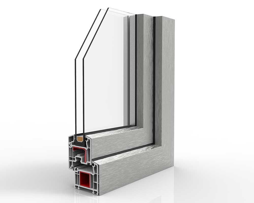 nodo esterno infissi pvc alluminio