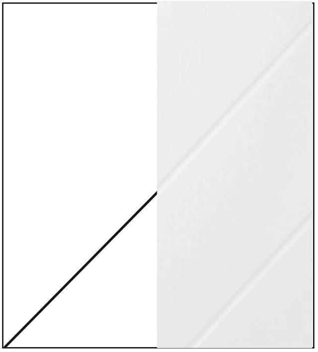Pannello bugna diagonale