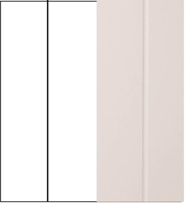 Pannello bugna dogato verticale