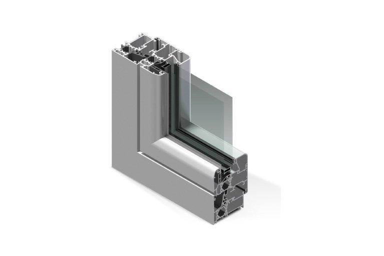Sezione alluminio taglio termico