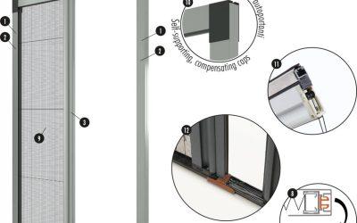 Zanzariera per porte finestre